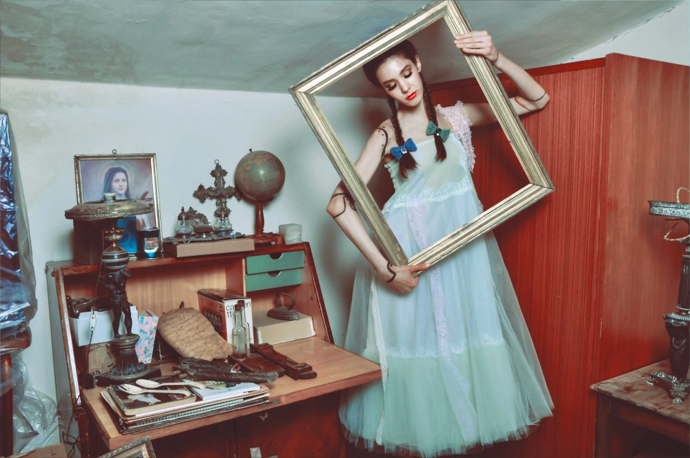 Abito: Antonella Rossi Hair-clip: Sharra Pagano