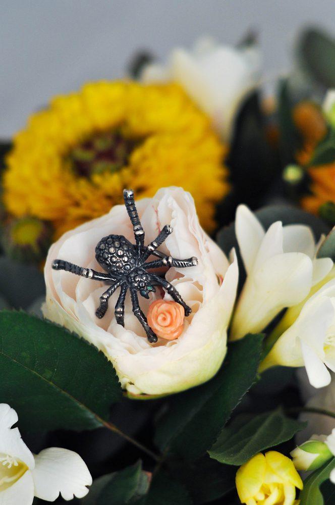 Anello ragno: Gioielli Giulia di Properzio